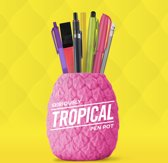 Mustard Desktop Penhouder - Seriously Tropical - Roze