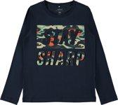 Name it Jongens T-shirt - Dark Sapphire - Maat 116