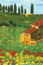 Italian Landscape Journal: Blank Notebook Diary Memoir