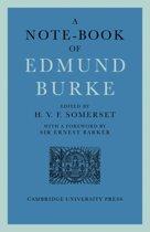 A Note-Book of Edmund Burke