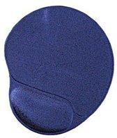 Gembird MP-GEL/40 - Gel muismat met polssteun, blauw