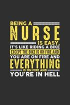Being a Nurse is Easy. It's like riding a bike Except the bike is on fire and you are on fire and everything is on fire and you're in hell: Weekly 100