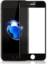 Screenprotector Tempered Glass 2.5D Apple iPhone 8 Plus/7 Plus Transparant Zwart