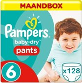 Pampers Baby Dry Pants Maandbox Maat 6 - 128 Luiers