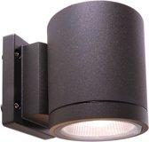 Zoomoi Mobby  - led - Buiten wandlamp - buitenverlichting - wandverlichting - 9w - antraciet