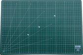 EXXO # 10070 - A3 Snijmat - 5-laags zelfhelend - 2-zijdige rasterdruk - 30x45cm