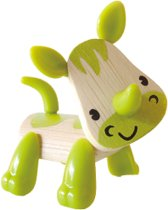 Hape Bamboe beestje neushoorn