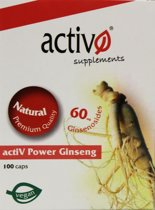 Activ power ginseng
