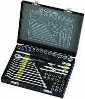 Toolcraft Dopsleutel- en ring/steeksleutelset / Z-751
