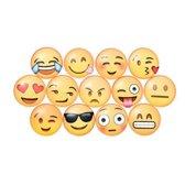 Emoji Koelkast Magneten - 13 stuks - 3cm bij 3cm