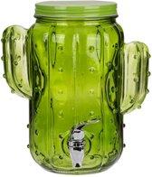 Drank dispenser cactus vorm - 4 Liter