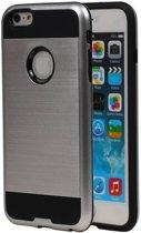 Wicked Narwal | Tough Armor TPU Hoesje voor iPhone 6 Zilver