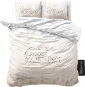 Dreamhouse Bedding Soft Morning - Dekbedovertrekset - Lits-Jumeaux - 240x200/260 + 2 kussenslopen 60x70 - Taupe