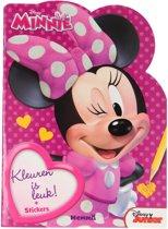 Kleurboek Minnie - Kleuren is Leuk!