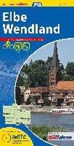 ADFC-Regionalkarte Elbe Wendland 1 : 75 000