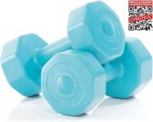 Gymstick - Dumbell - Blauw - 2 pack - 3kg