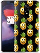 OnePlus 6 Hoesje Happy Ananas