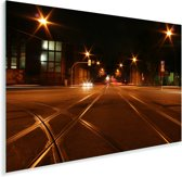 De straten van de Duitse stad Bochum Plexiglas 90x60 cm - Foto print op Glas (Plexiglas wanddecoratie)