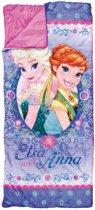 Disney Frozen slaapzak paars