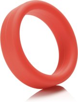 Tantus Super Soft C-Ring Cockring - Rood