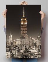 Empire State Building New York - Poster 61 x 91.5 cm