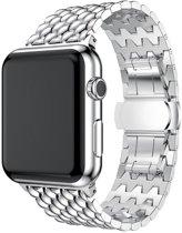 watchbands-shop.nl RVS bandje - Apple Watch Series 1/2/3/4 (42&44mm) - Zilver