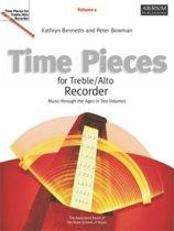 Time Pieces for Treble/Alto Recorder, Volume 1