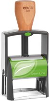 Colop S2600N Green Line - milieubewust stempel - (58x37 mm)(8 regels) met voucher/waardebon en zwart inktkussen