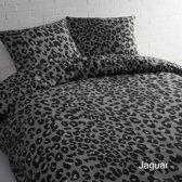 Day Dream Jaguar dekbedovertrek - Grijs - eenpersoons (140x200/220 cm + 1 sloop)