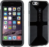 Speck CandyShell Grip - Hoesje voor iPhone 6 / 6s - Black / Slate Grey Core