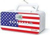 Muse M-28 US - Draagbare radio/CD/MP3 speler