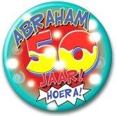 Button Abraham 50 jaar
