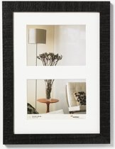 Walther Home - Fotolijst - Fotomaat 2x10x15 cm - Zwart