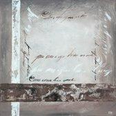 Schilderij 'No Name' 80x80cm