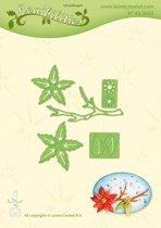 Leabilitie�  Kerstster Plant - snij en embossing mal