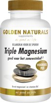 Golden Naturals Triple Magnesium (180 tabletten)