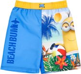 Minions-zwemboxer-blauw - Maat 104