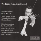 Mozart: Violonkonzert Nr. 4; Sinfonia concertante