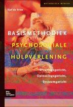 Boek cover Basismethodiek psychosociale hulpverlening van Sjef de Vries