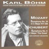 Schubert: Sinfonie Nr. 9 & Mozart: Sinfonie Nr. 34