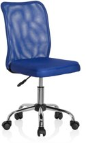 hjh Kiddy Net - Bureaustoel - Kinder - Netstof - Blauw