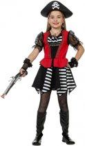 Piraten jurkje voor meisjes 128