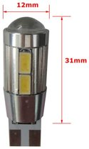 W5W-T10 10 HP Canbus 2.0 LED