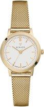 Renard Elite White Gold Mesh RA261YG02MSYG - Horloge - Staal - Goud - Ø 25.5 mm