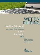 Omslag van 'Larcier Wet en Duiding - Economisch recht (8 delen) - Wet en Duiding Insolventie'