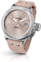 TW Steel TW540 Canteen Collection - Horloge - 45 mm - Roze