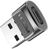 ROCK - USB-C Female naar USB Male Adapter / Convertor