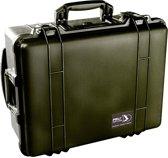 Peli 1564 Waterdichte Studio Case Camerakoffer Zwart met Dividers