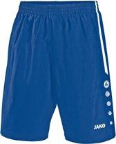 Jako Turin Short - Voetbalbroek - Mannen - Maat L - Blauw kobalt