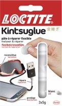 Loctite Kintsuglue Kneedlijm flexibel - 3 x 5 Gram - Wit